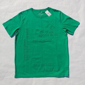 PRPS Men Green T-shirt Size 2XL Short Sleeve